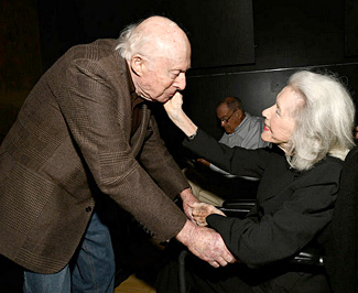 Norman Lloyd Marsha Hunt